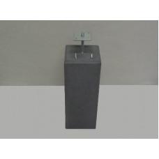 BETONPOER XL 58 CM ANTRACIET 200X200 / 225X225 HULS M20