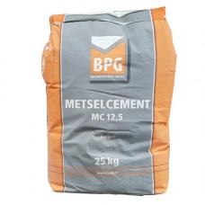 BPG METSELCEMENT MC 12.5 ZAK À 25 KG